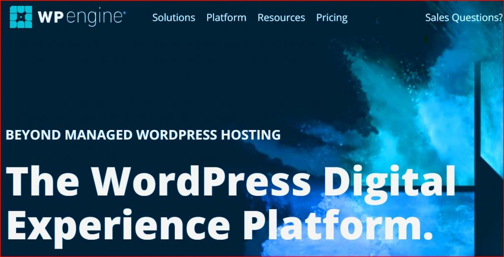 wpengine hosting review min