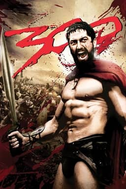 poster of the movie 300 by Warner Bros
